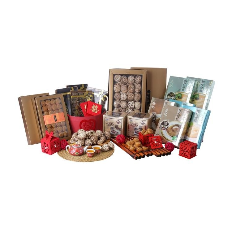 Deluxe Dried Seafood Hamper (8 types)