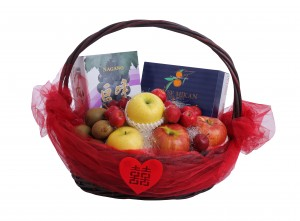 Deluxe Japanese Fruit Wedding Hamper