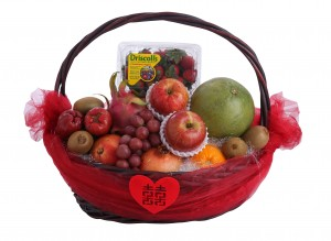 Deluxe Worldwide Fruits Wedding Hamper
