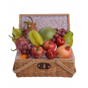 Deluxe Worldwide Fruit Hamper